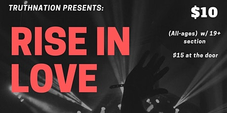 RISE IN LOVE tickets