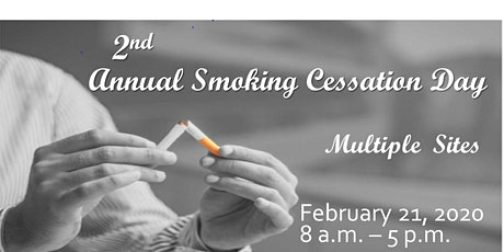 2nd Annual Smoking Cessation Day - San Francisco tickets
