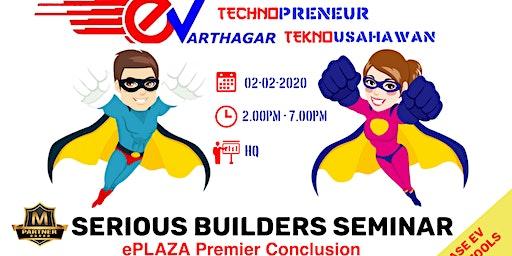 Serious Builders Seminar & Premier Plaza Certificate Award Ceremony