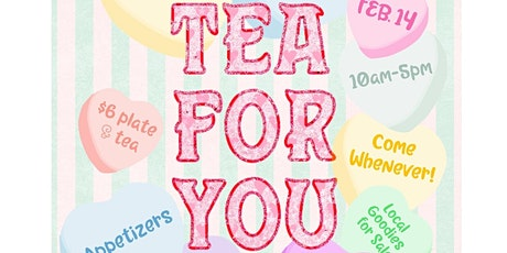 Tea For You tickets