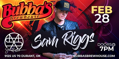 Sam Riggs tickets