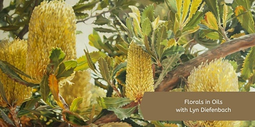 Oil Florals with Lyn Diefenbach (2 Day)