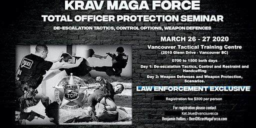 Krav Maga Force - Total Officer Protection Seminar