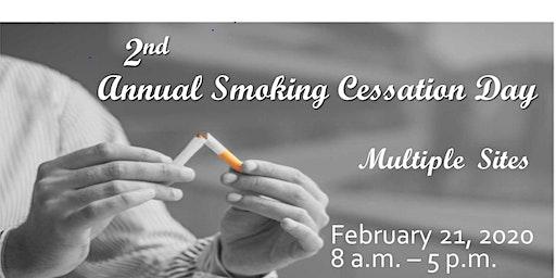 2nd Annual Smoking Cessation Day - Livestream