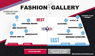FASHION GALLERY: A Fashion X Art Exhibit tickets