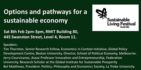 What would a sustainable economy look like and how we can we get there? tickets
