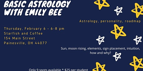 Basic Astrology with Emily Bee * Buy tix online tickets