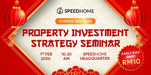Property Investment Strategy Seminar Post Chinese New Year