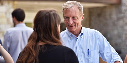 Town Hall with Tom Steyer in Iowa City