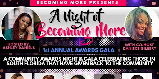 """A night of Becoming More"""""""