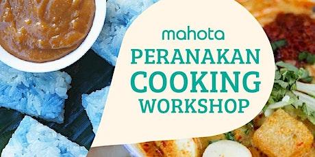 Peranakan Cooking Workshop tickets