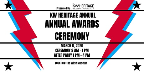 KW Heritage Annual Awards Ceremony tickets