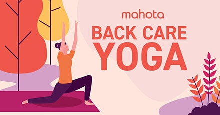 Back Care Yoga tickets