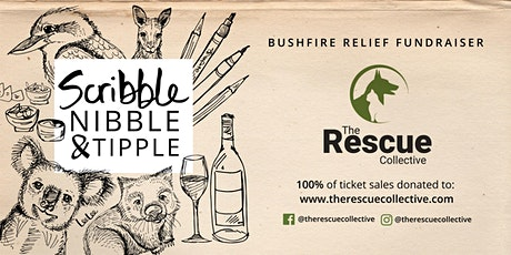 Scribble, Nibble & Tipple | Bushfire Relief Fundraiser tickets