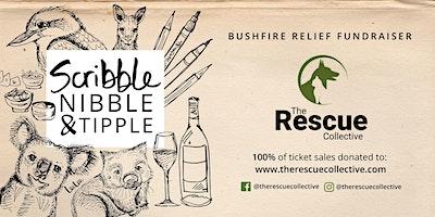 Scribble, Nibble & Tipple | Bushfire Relief Fundraiser