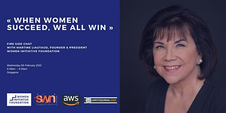 When women succeed, we all win ! tickets