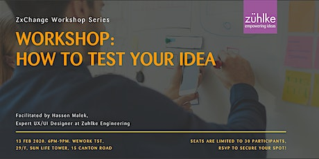 How to Test Your Idea Workshop. StartmeupHK Festival 2020 Community Event. tickets
