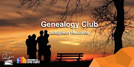 Genealogy Club: Adoption Records tickets