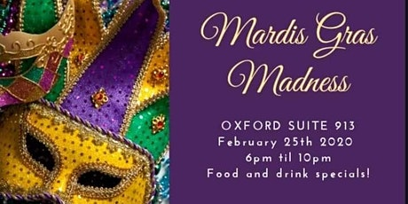 Suite 913 Presents The Mardi Gras Party   tickets