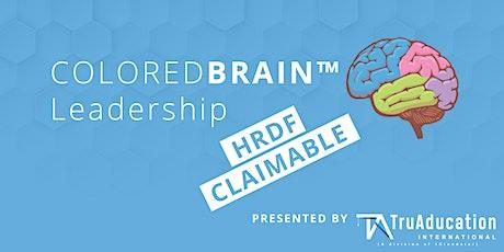 ColoredBrain™  Leadership tickets