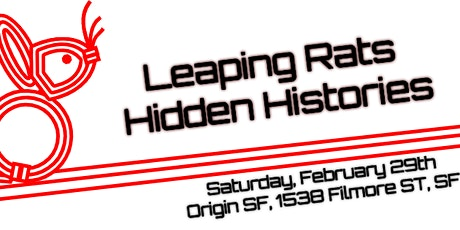 Leaping Rats, Hidden Histories: A QTAPI Gathering tickets