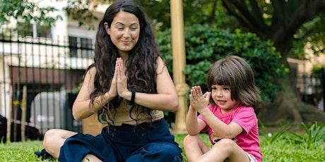 Clase abierta de yoga para niños entradas