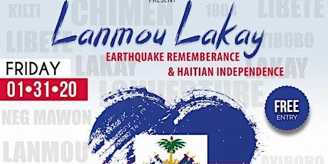 "@PoeticLakay + @PathToHipHop present  ""Lamou Lakay""  Earthquake Rememberance & Ayisyen Independence tickets"