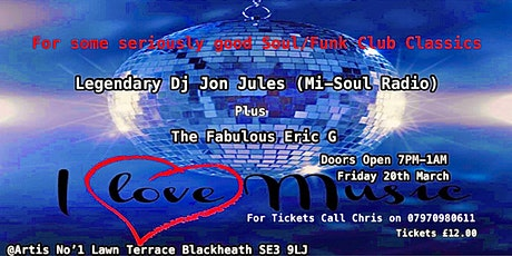 Soul/Funk Events tickets