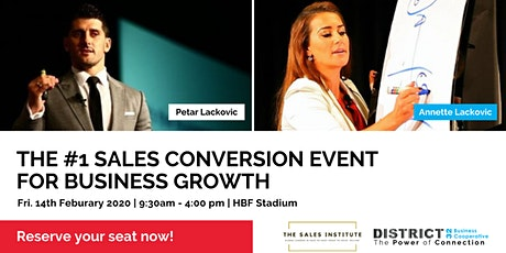CONVERT - The #1 Sales Conversion Event for Business Growth - Fri 14th Feb tickets