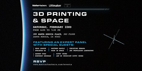 3D Printing & Space tickets