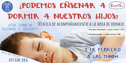 ¿Podemos enseñar a dormir a nuestros hijos e hijas?