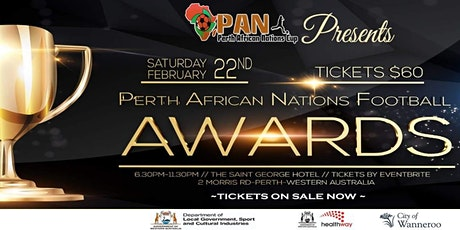 Perth African Nations Football Awards tickets