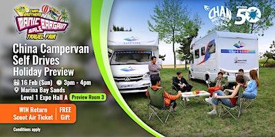 China Campervan Self Drives Holiday Preview