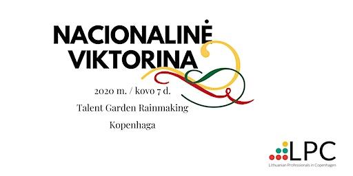 Nacionalinė Viktorina 2020 - Kopenhaga