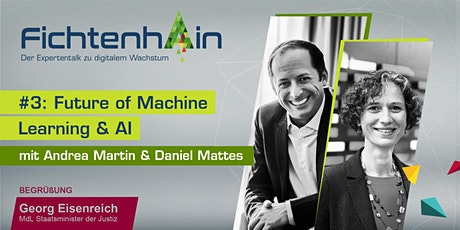 FICHTENHAIN #3 LIVESTREAM: Future of Machine Learning  & AI Tickets