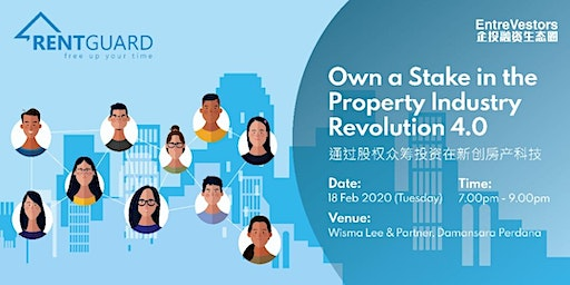 Own a Stake in the Property Industry Revolution 4.0