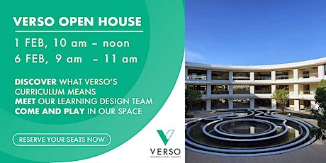 VERSO Open House - Come visit us and play in our learning spaces tickets