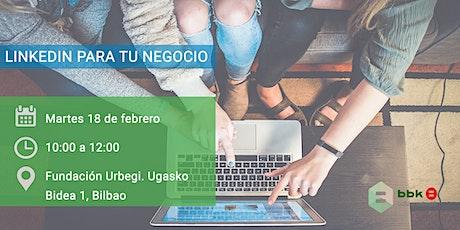 LinkedIn para tu negocio entradas