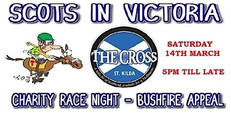 Scots in Victoria bushfires fundraiser tickets
