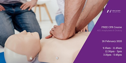 FREE CPR Course for GPs including AED, Anaphylaxis & Choking
