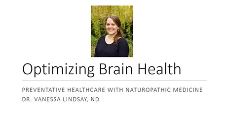 Optimizing Brain Health tickets