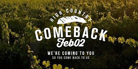 High Country Comeback tickets