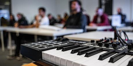 Séance d'info & workshop   Electronic / urban music production billets