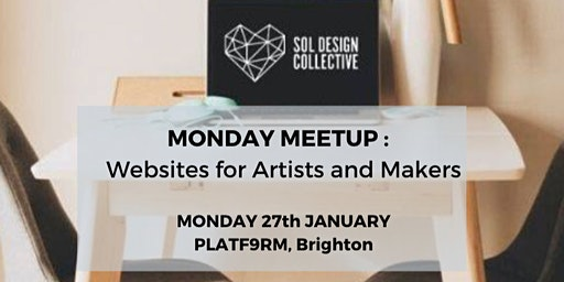 MONDAY MEETUP: Websites for artists and makers