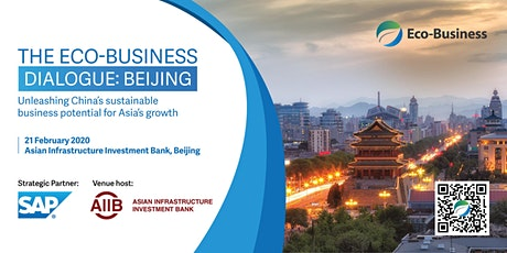 The Eco-Business Dialogue: Beijing tickets