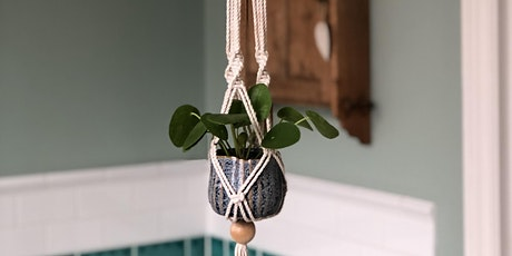 Saturday Morning Macrame Workshop for Mother's Day - Make a Plant Hanger tickets
