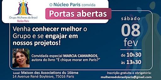 Portas Abertas 08/02 Grupo Mulheres do Brasil