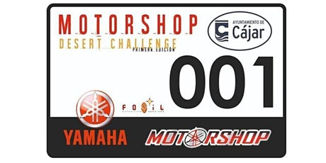 Motorshop Desert Challenge entradas