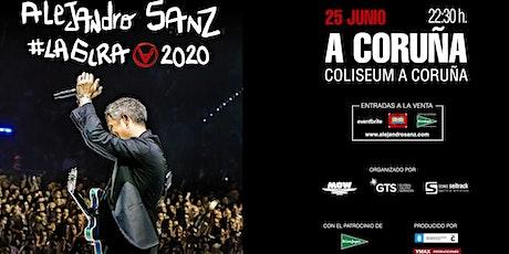 Alejandro Sanz #LAGIRA 2020 - Coliseum A Coruña entradas