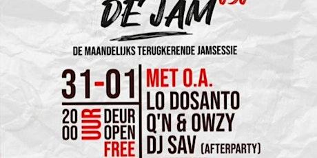 De Jam 030 Met Lo Dosanto -  Q'n & Owzy tickets